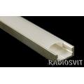 Профиль для светодиодной ленты низкий ЛП-7 (1м)