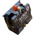 Дополнительный контакт для кнопок ZB2-BE102 N/C АсКо