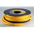 """Маркировка для кабеля EC-0 (0.75-1.5mm2) """"1"""" (1шт)"""