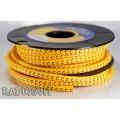 """Маркировка для кабеля EC-0 (0.75-1.5mm2) """"C"""" (1шт)"""